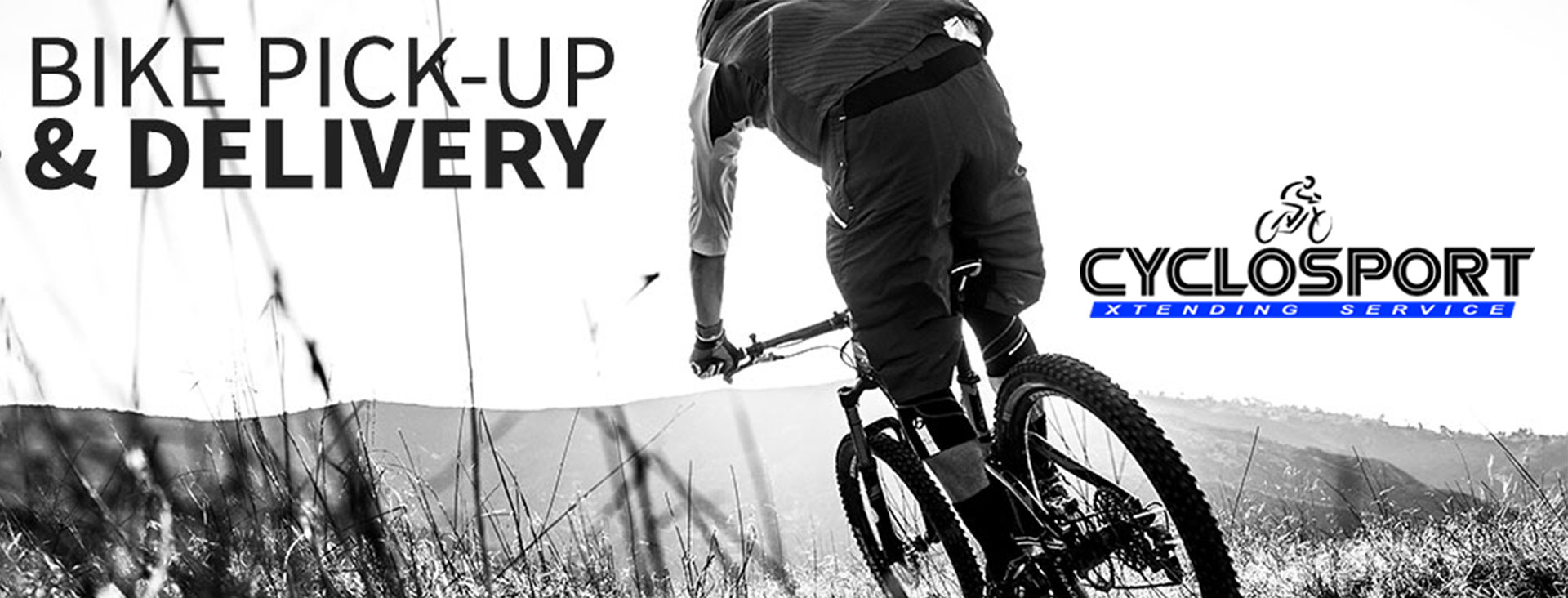 Collection and delivery options available when servicing your bicycle with Cyclosport Cape Town