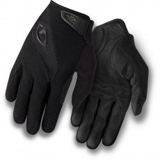 GIRO BRAVO LONG FINGER GEL GLOVE - BLACK