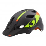 GIRO FEATURE BLACK - LIME / FLAME
